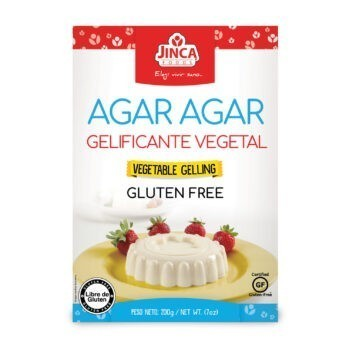 Agar- agar 200g Marca Jinca Foods